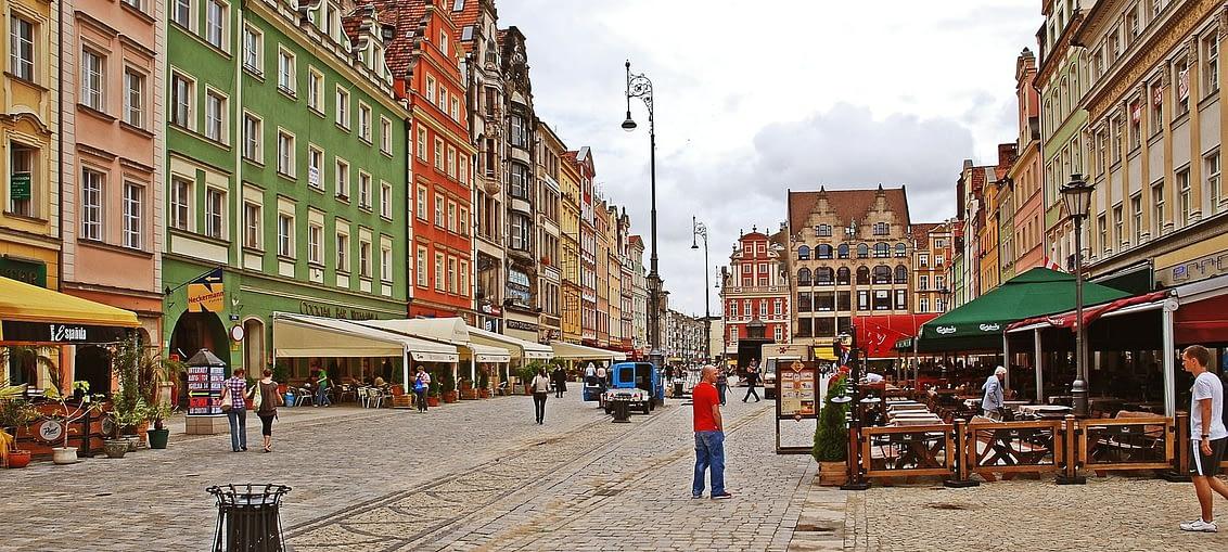 Rynek centralny Wrocław