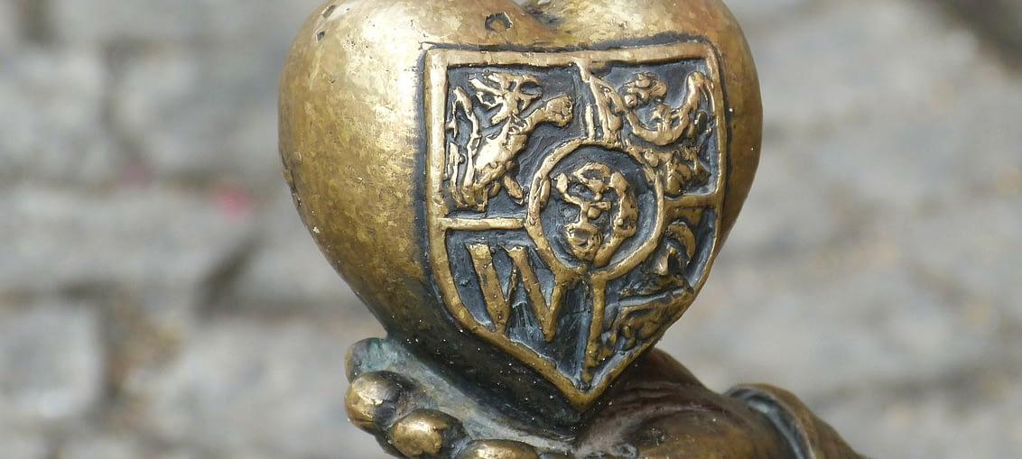 Serce krasnala we Wrocławiu